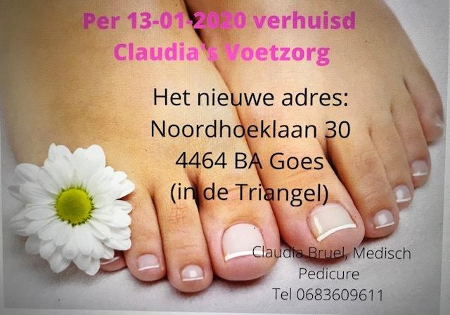 Claudia's Voetzorg