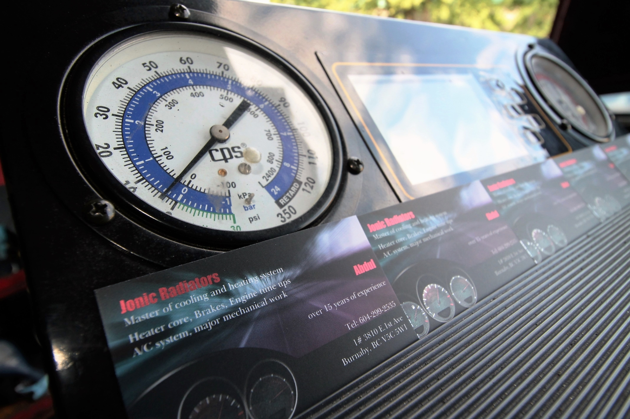 JoNic Radiators in Burnaby: top notch diagnostic equipment
