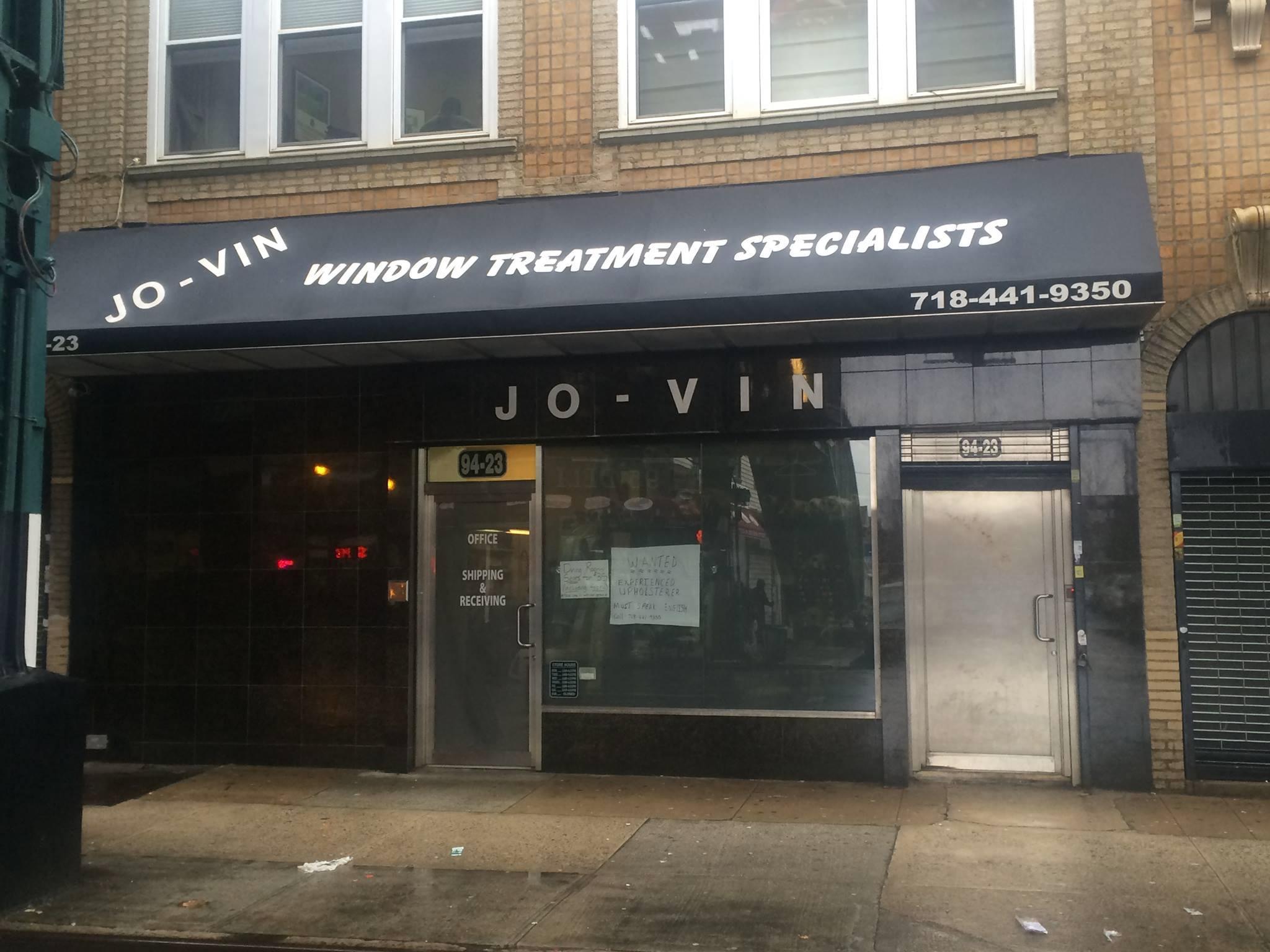 Jo-Vin Inc. 9423 Jamaica Avenue Woodhaven, NY 11421 http://www.jo-vin.com/
