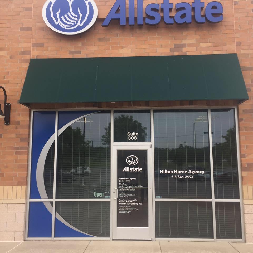 Allstate Insurance Agent: Hilton Horne