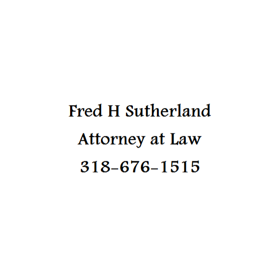 Fred H Sutherland Attorney at Law