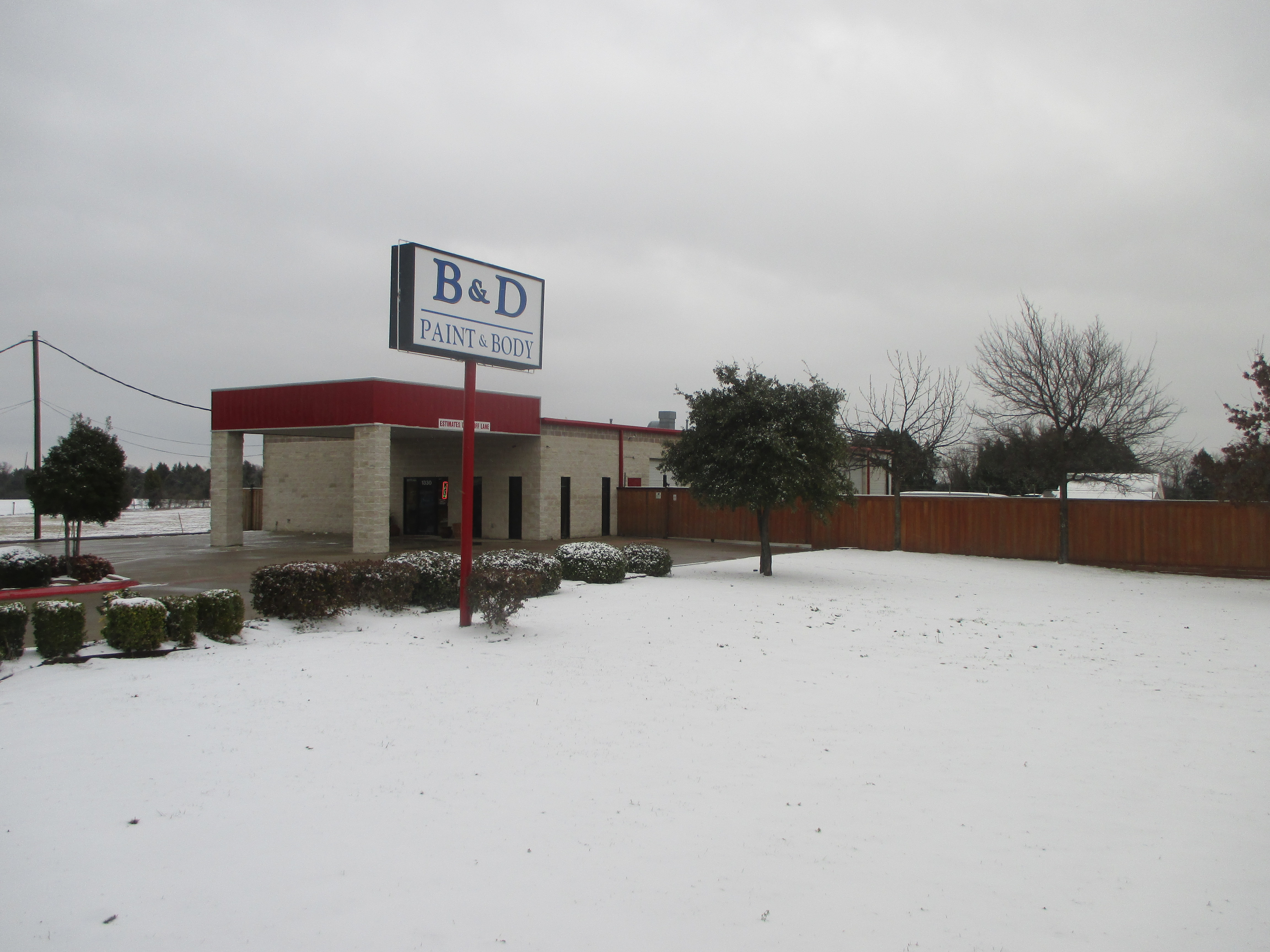 B D Paint And Body Mesquite Tx