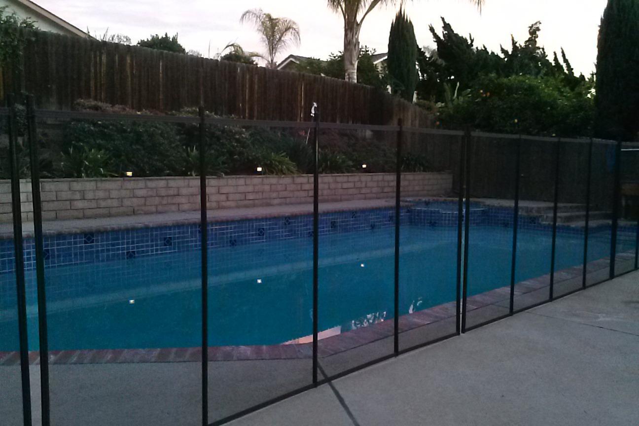 Nathans Pool Fence image 22