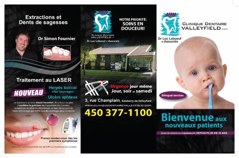 Clinique Dentaire Valleyfield Inc à Salaberry-de-Valleyfield