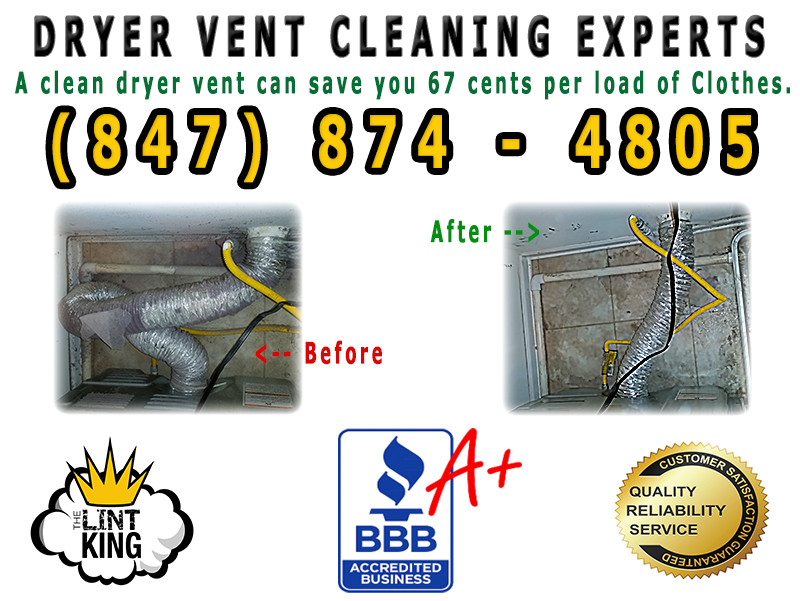 Did you know that cleaning your dryer vent saves time and money! It can also save your life... LINT is very flammable, and dryer fires occur 15,500 time a year in the USA.