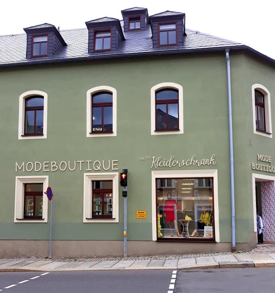 Modeboutique Mein Kleiderschrank, Ratsstr. 1 in Marienberg