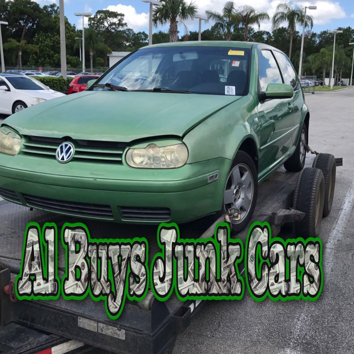 Cash For Junk Cars Online Quote About Us  Al Buys Junk Cars  Orlando Salvage Yard Junkyard