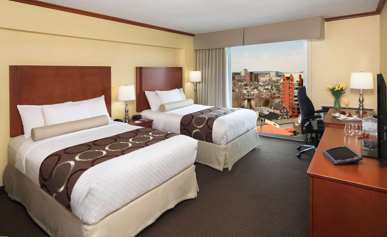 Best Western Plus Gatineau-Ottawa à Gatineau: 2 Double Beds Guest Room Gatineau View
