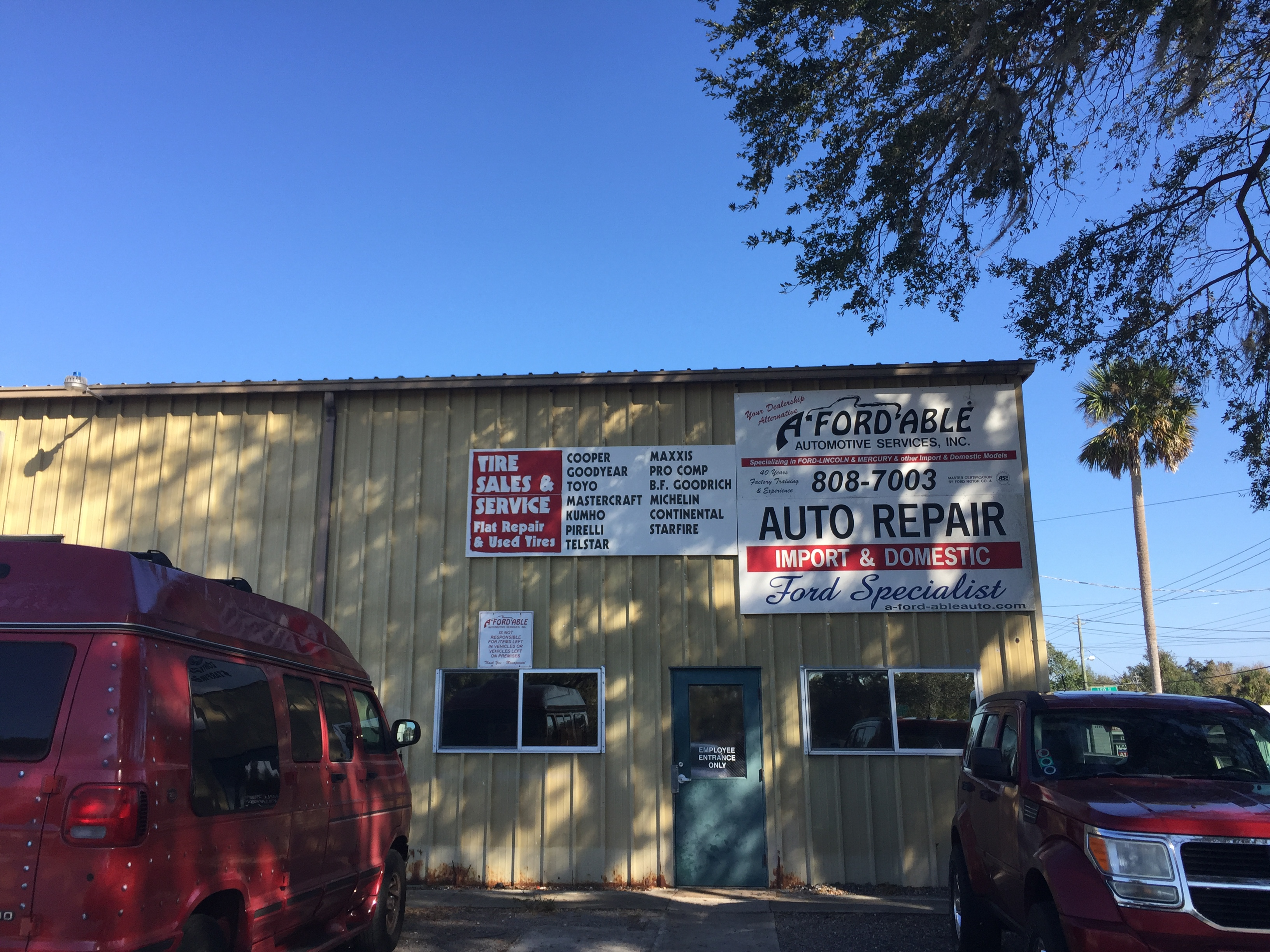 A-Ford-Able Auto Repair & Tire Service