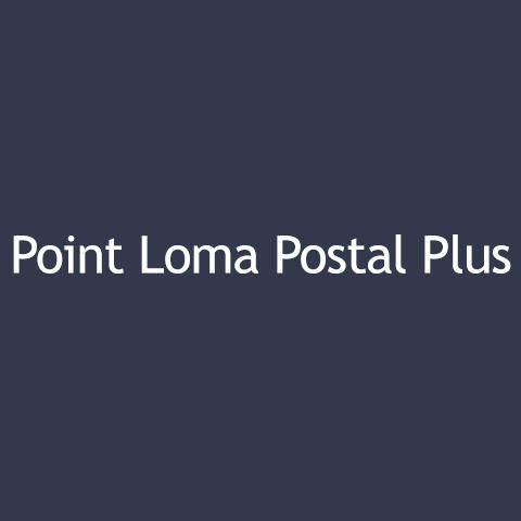 Point Loma Postal Plus