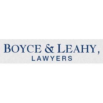 Boyce & Leahy, Lawyers - ad image