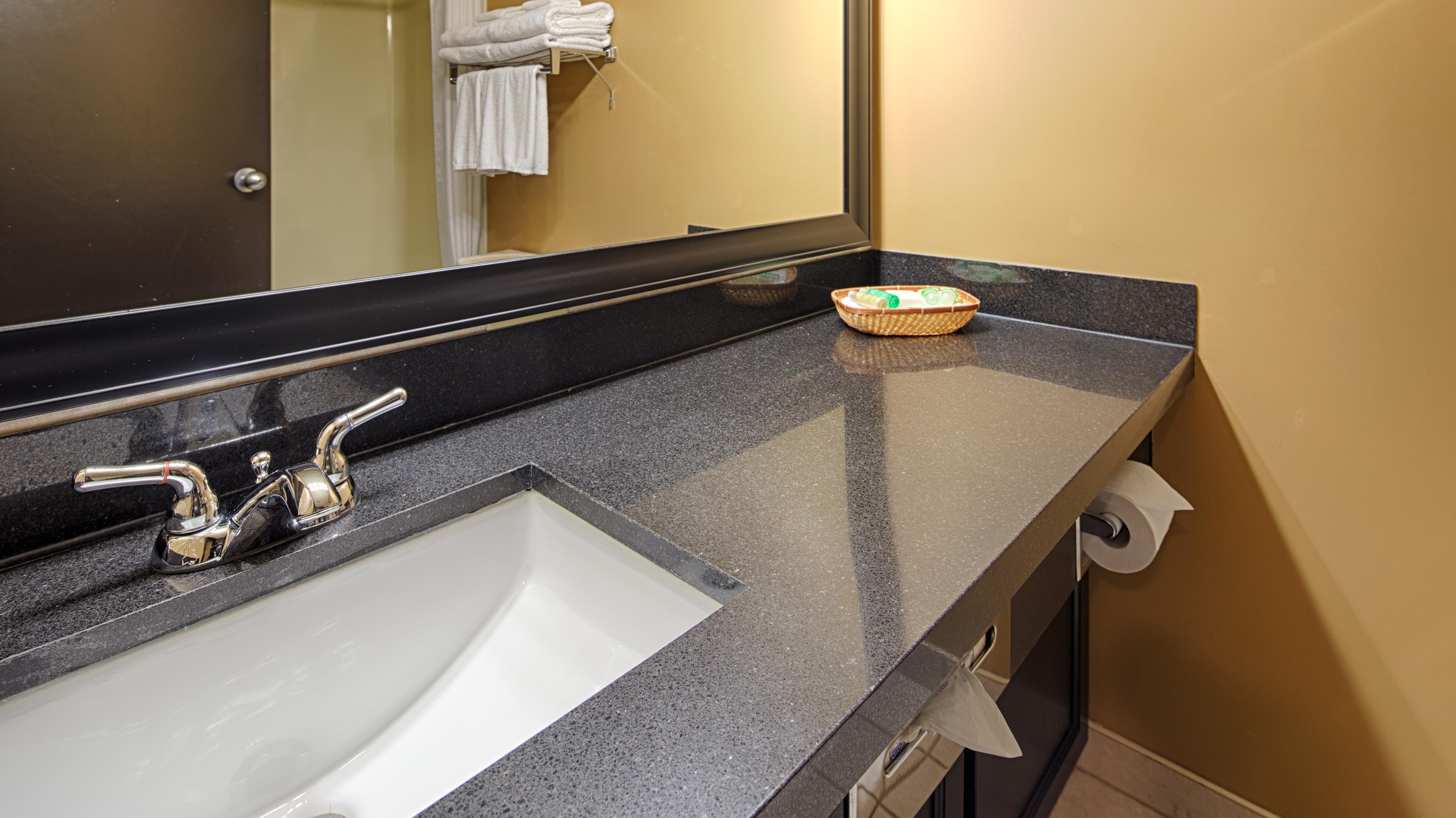 Best Western Seven Oaks Inn in Regina: Guest Bathroom