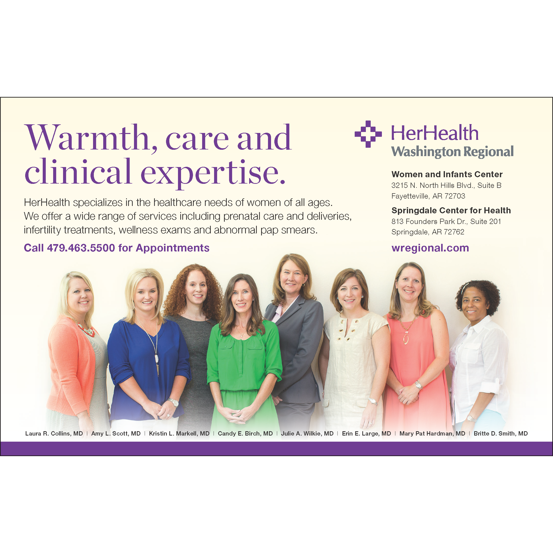 Her Health - Fayetteville, AR - General Surgery
