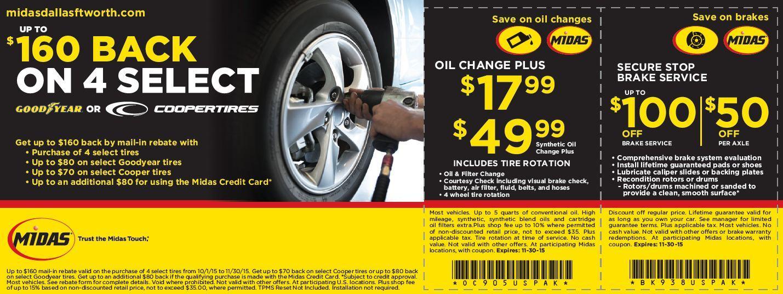 Midas Auto Service Experts - Dallas, TX 75231 - (469)249-9665 | ShowMeLocal.com