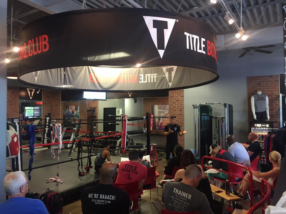 Title Boxing Club Derby