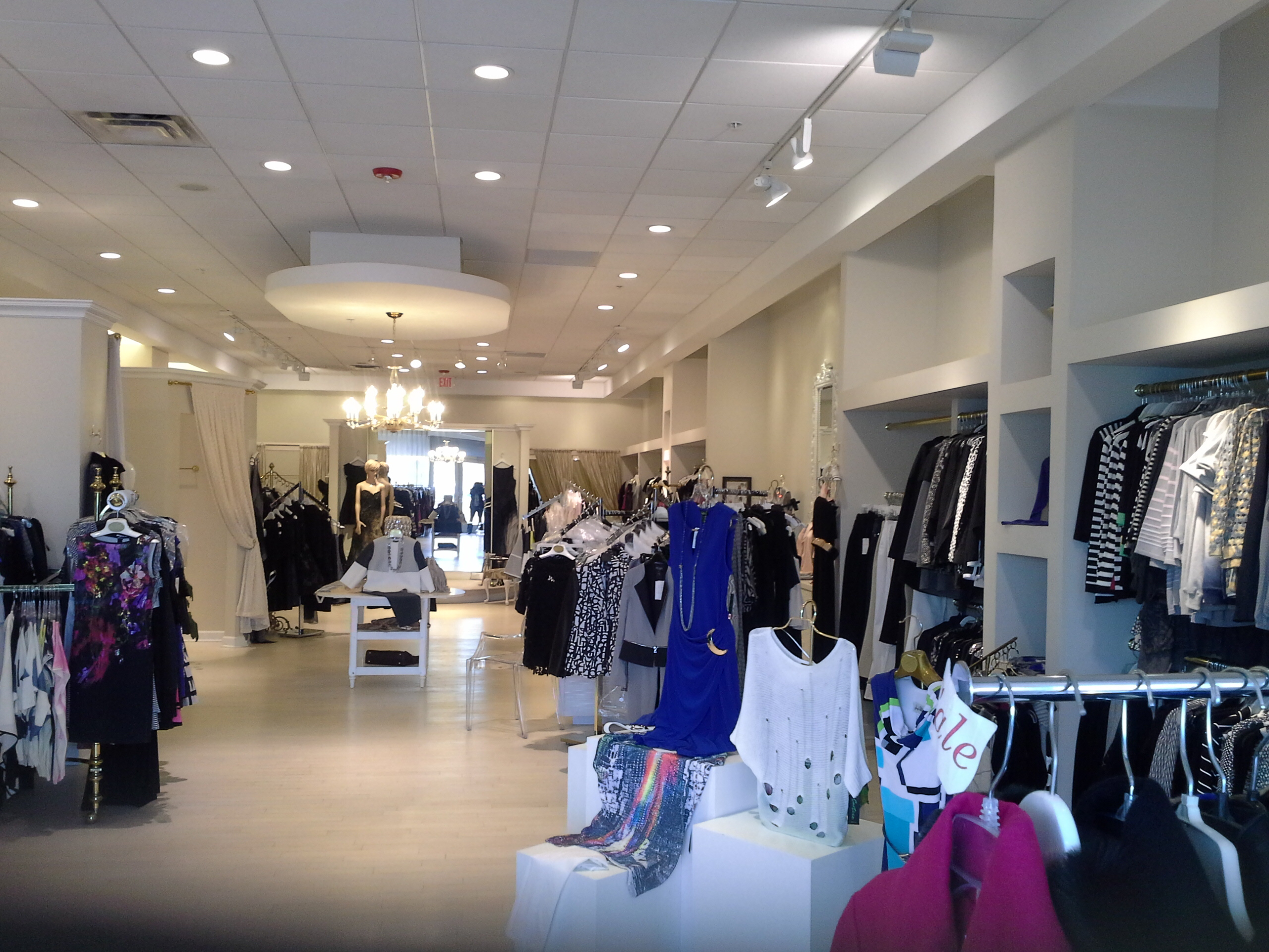 Filled to the brim with women's fashion!
