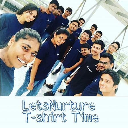 Lets Nurture t-shirt time