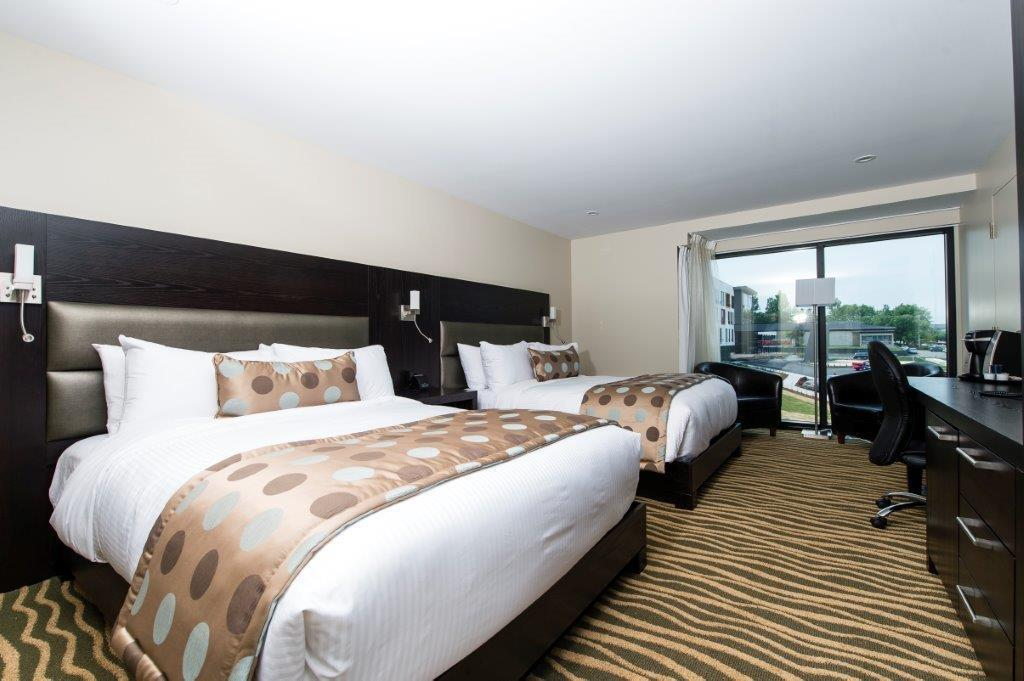 Best Western Plus Hotel Levesque à Riviere-du-Loup: Aqua Two Queen with River View