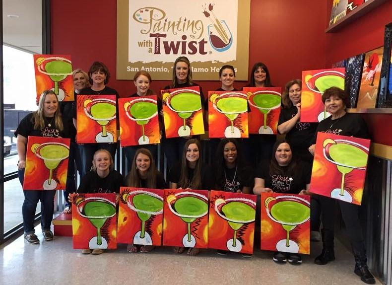 Painting with a twist in san antonio tx 78209 citysearch for Painting with a twist san diego
