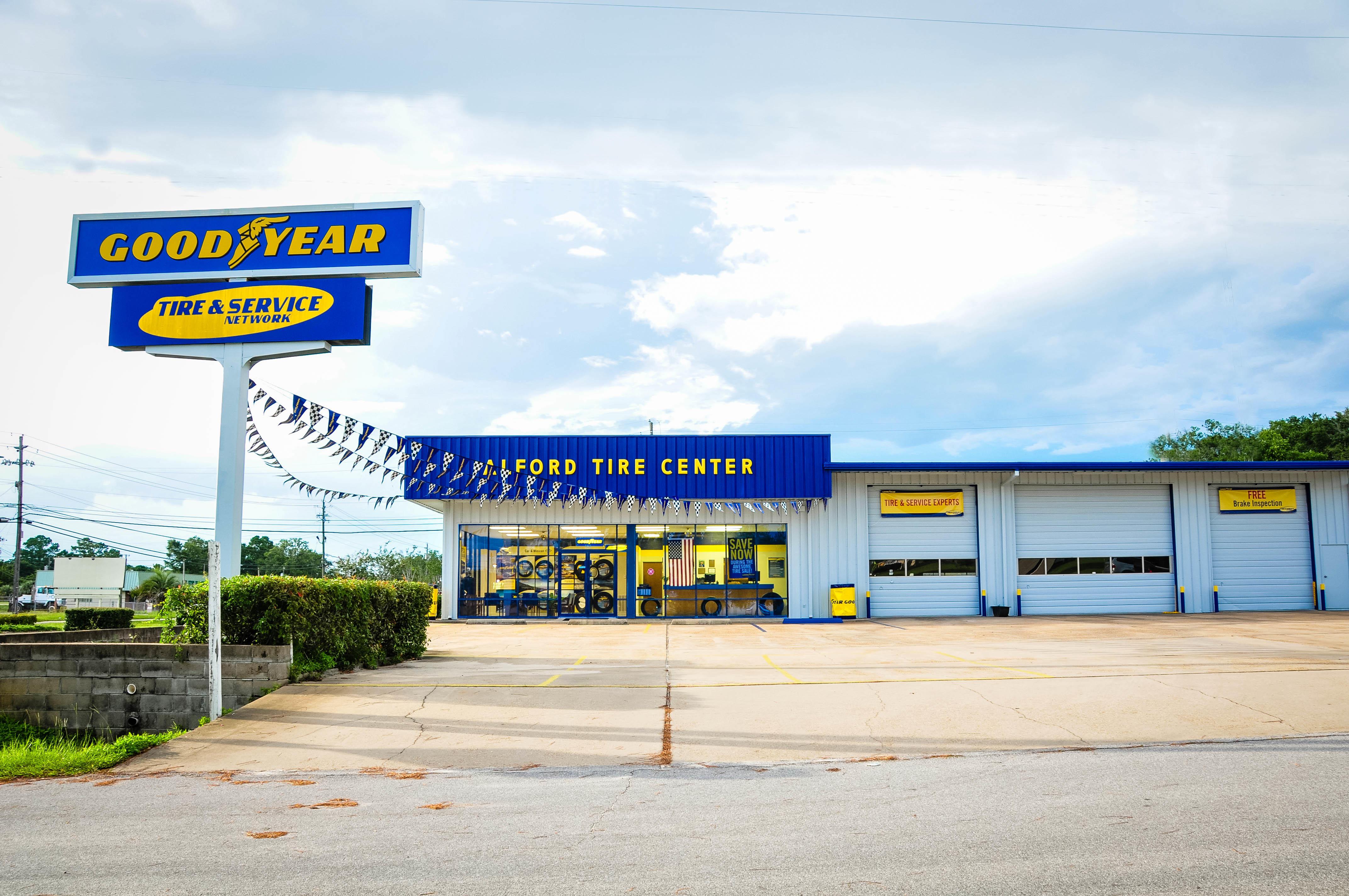 Alford tire center at 180 north tyndall parkway panama for Parkway motors panama city