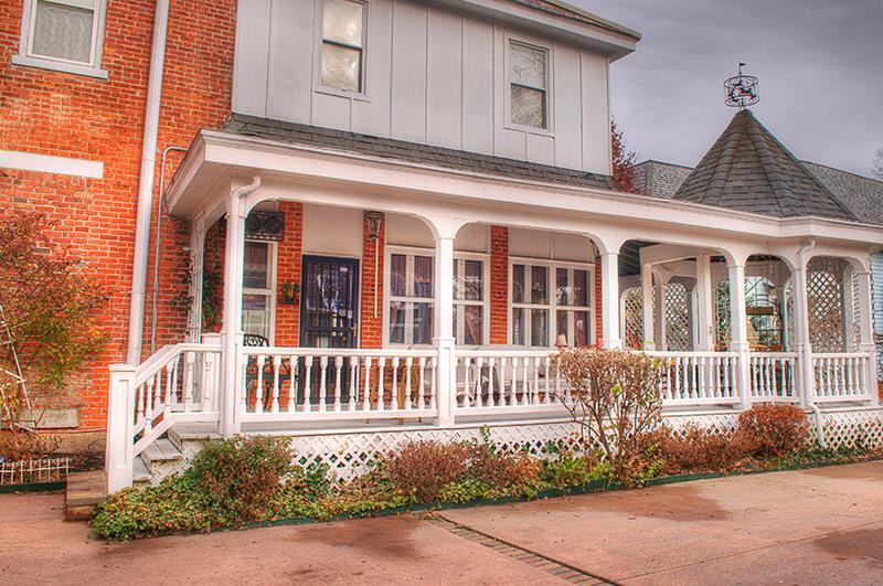 Andrea's Rear Porch