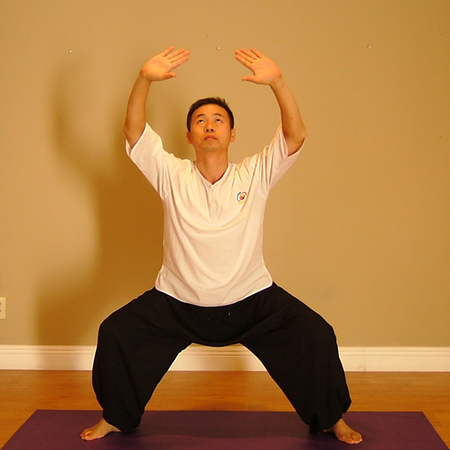 Breath Qigong Yoga Posture