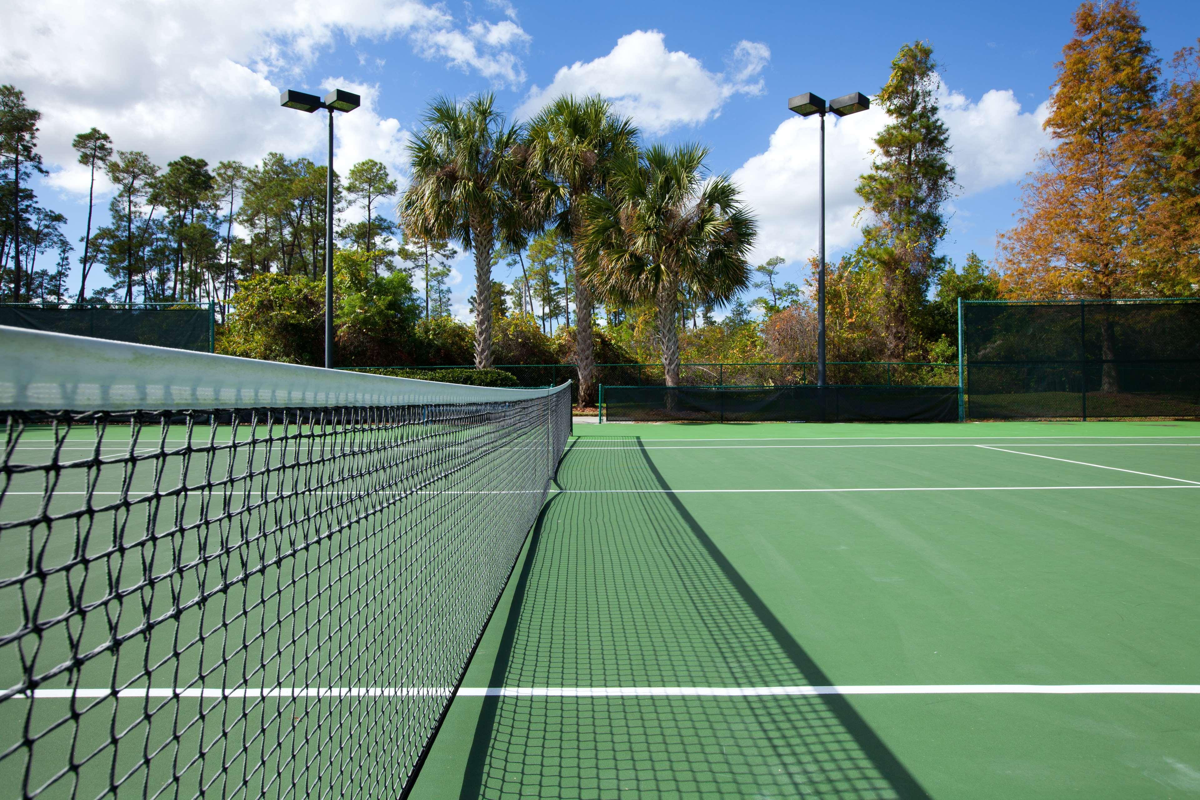 Tennis Courts.