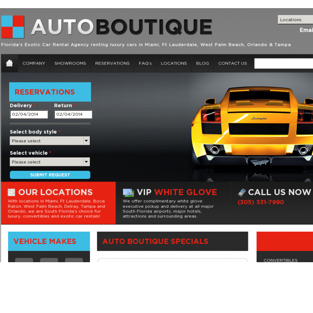 AutoBoutique Exotic Car Rental Miami