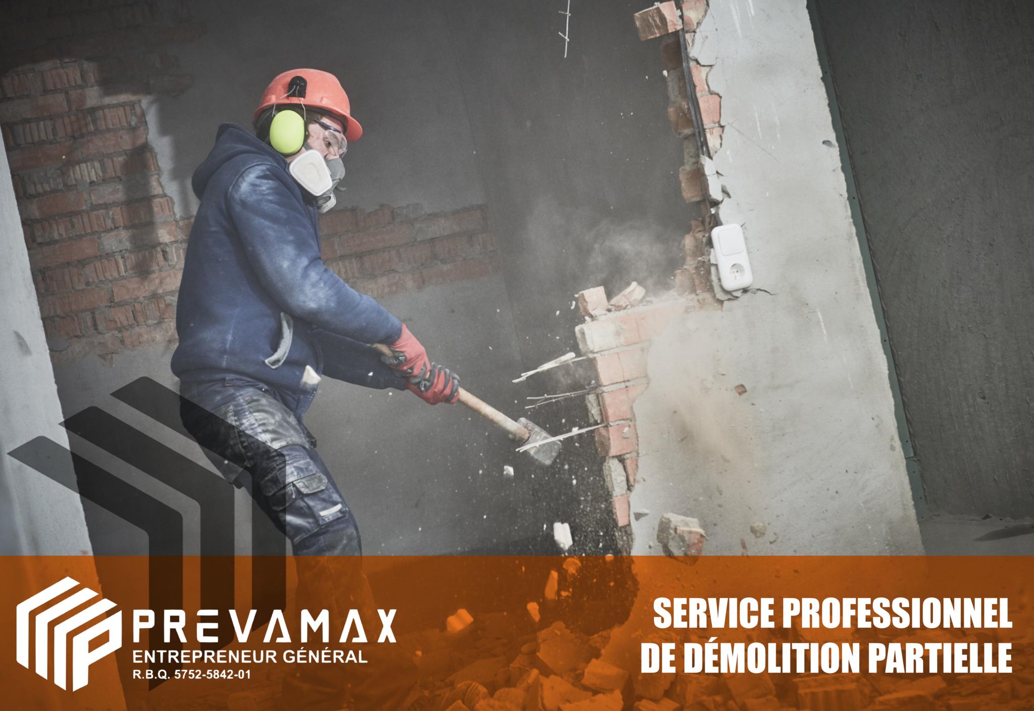 Prévamax - Entrepreneur Général