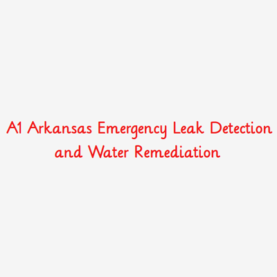 A1 Arkansas Emergency Leak Detection and Water Remediation