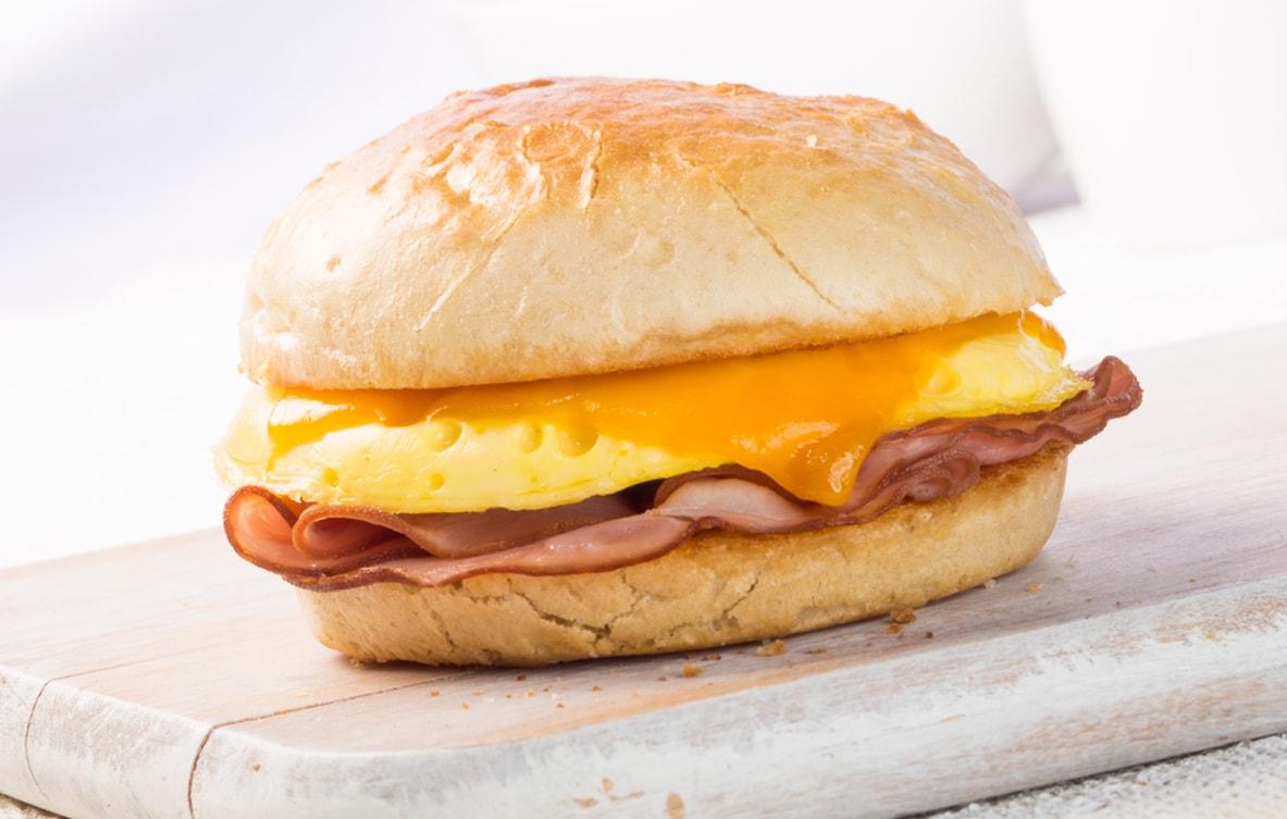 Ham, Egg & Cheddar
