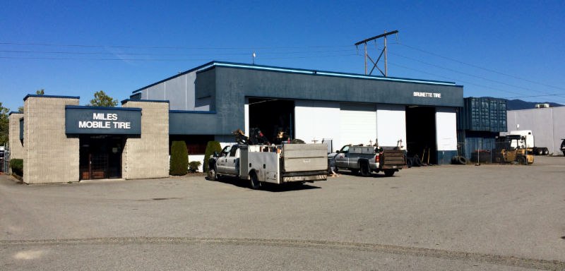 Miles Tire Services Ltd in Port Coquitlam: Our central location in Port Coquitlam makes tire installations and service close to where you live and work. Free parking, minimal wait time.  Visit us at 1464 Spitfire Pl., Port Coquitlam, BC