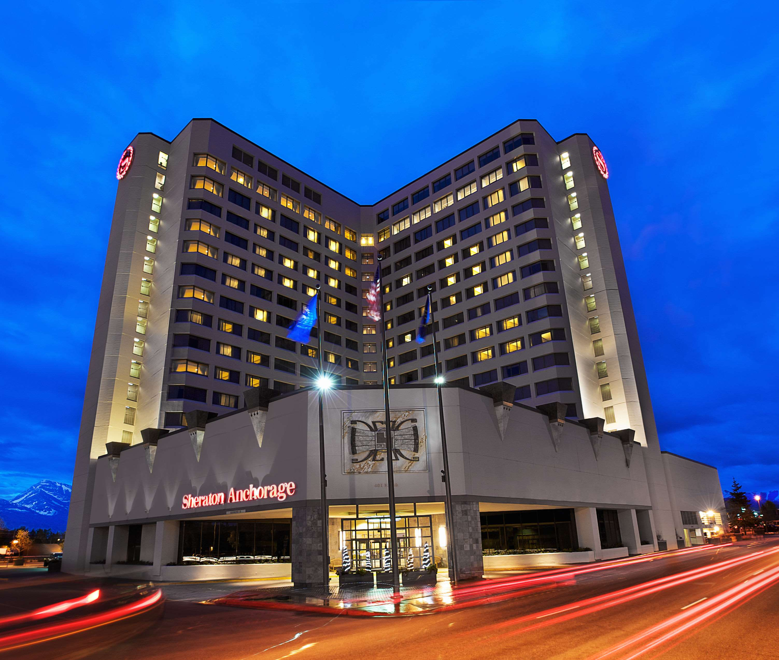 Sheraton Anchorage Hotel And Spa Anchorage Ak
