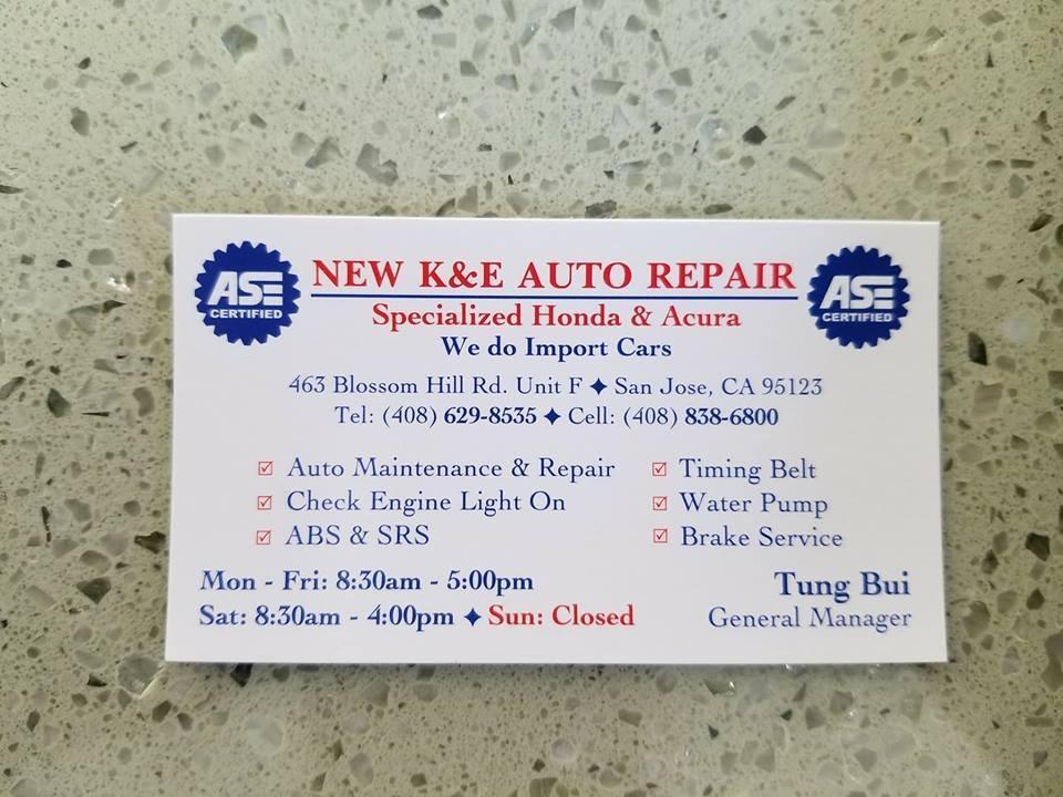 New K&E Auto Repair image 0