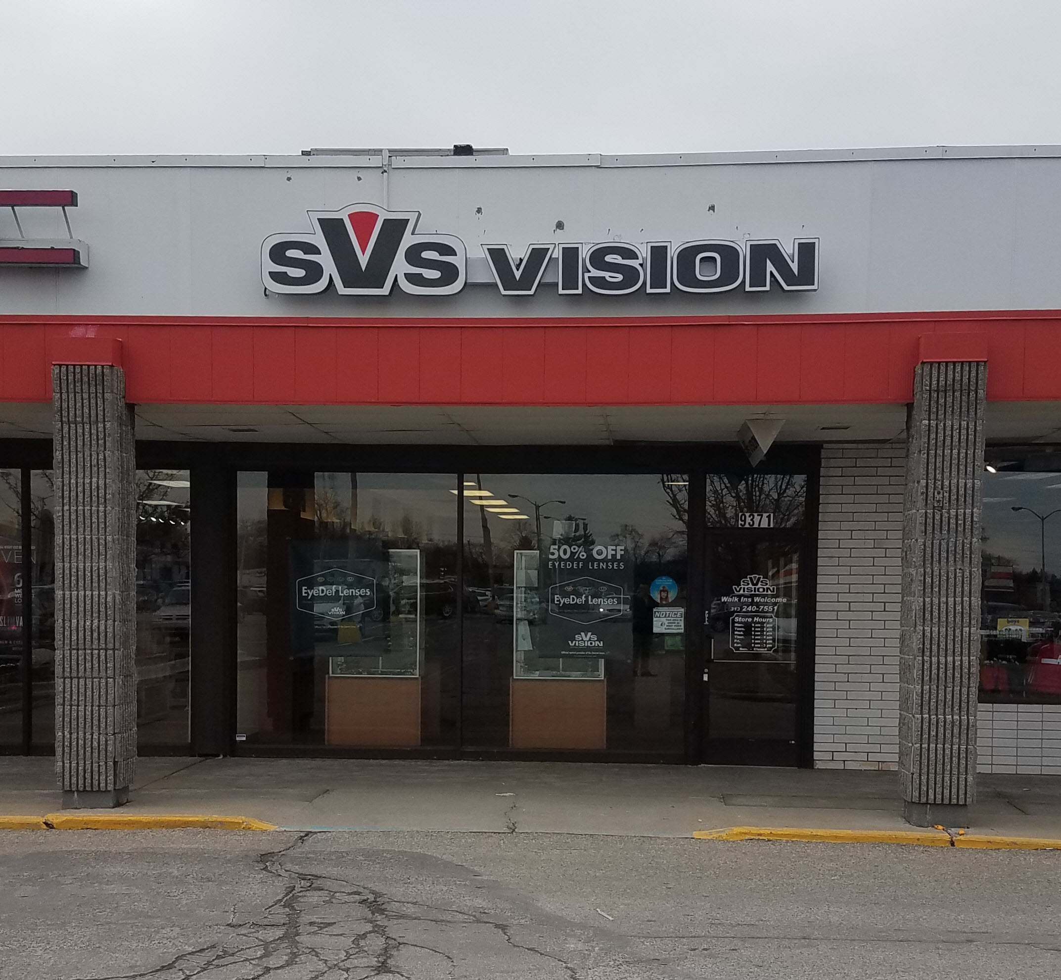 96d37641f29f SVS Vision Optical Centers 9371 Telegraph Rd Redford