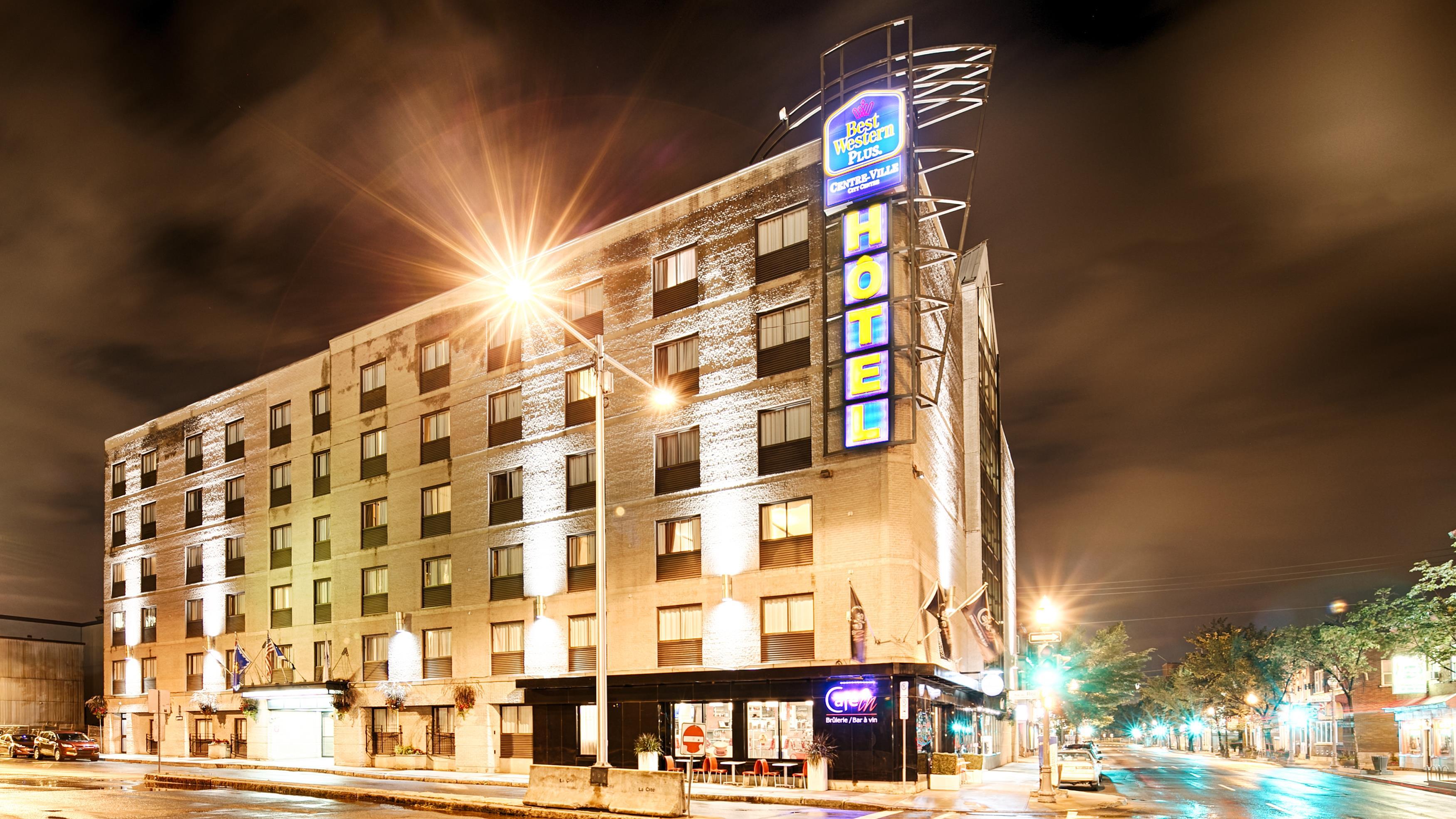 Best Western Plus City Centre/Centre-Ville à Quebec: Hotel Exterior