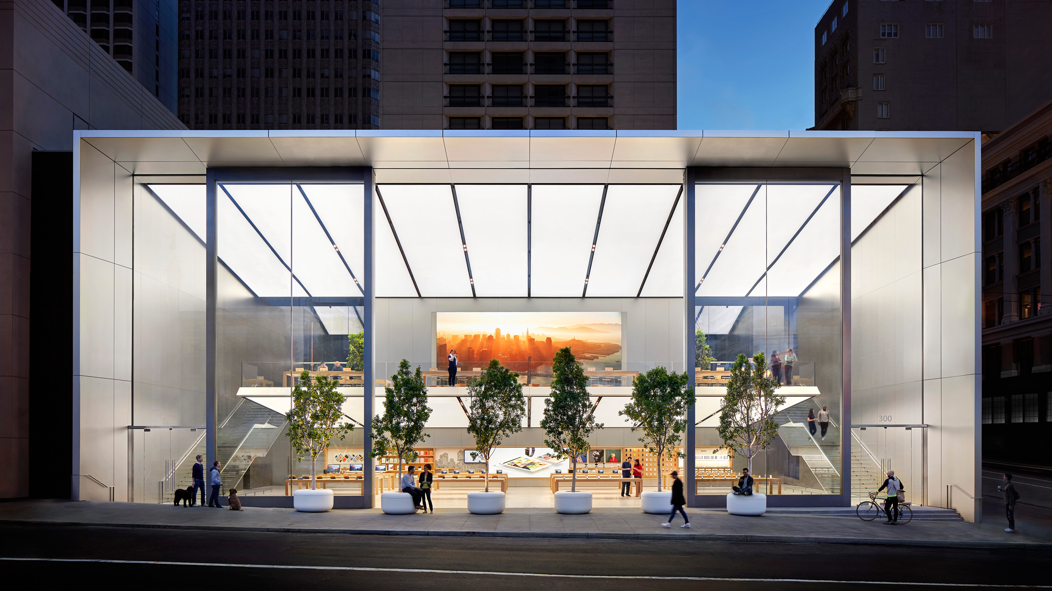 Apple Union Square in San Francisco, CA, photo #1