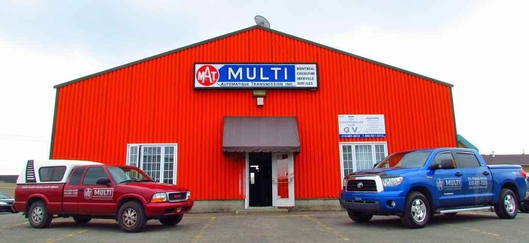 Multi Transmission Automatique Inc in Québec
