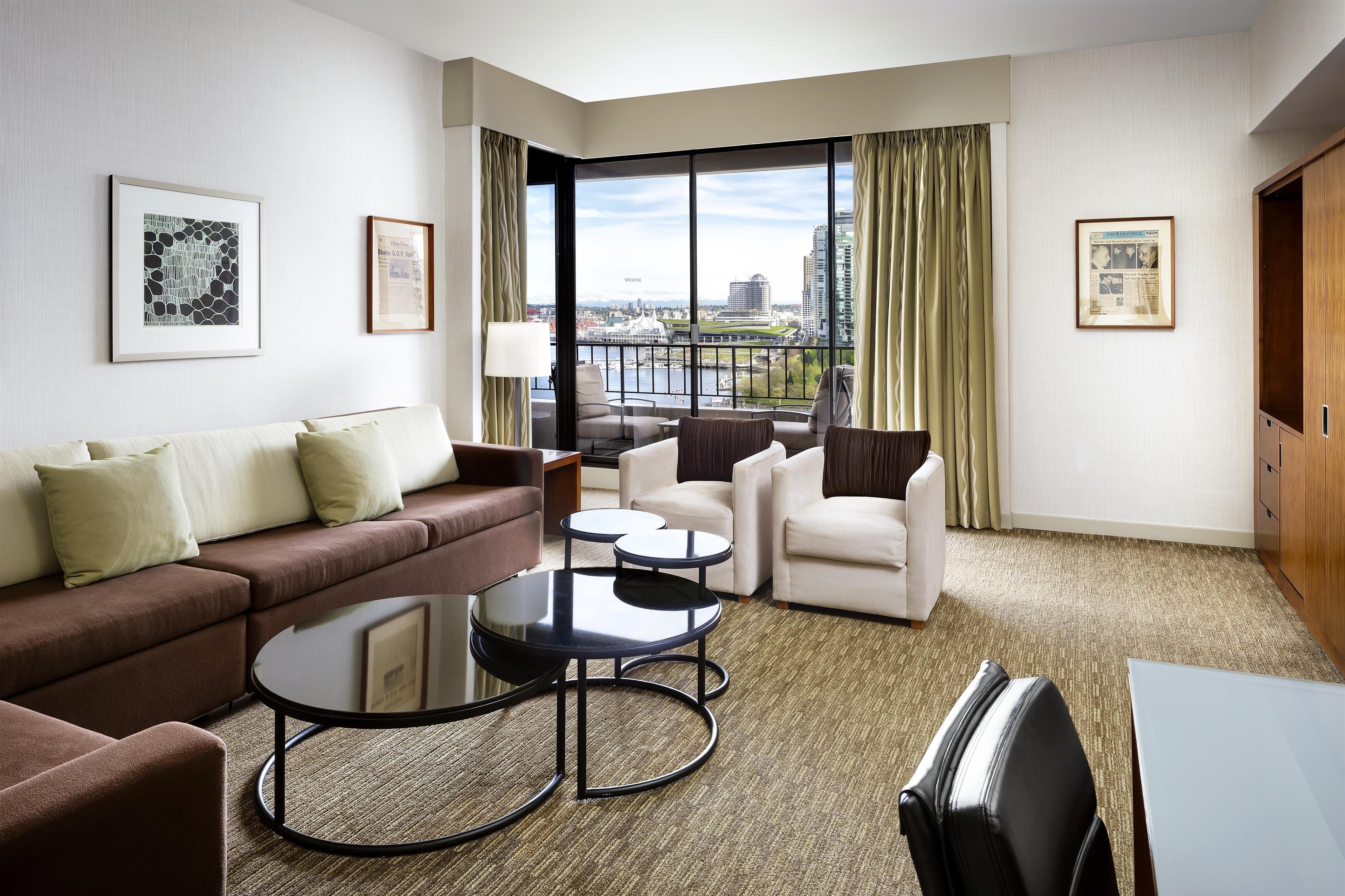 The Westin Bayshore, Vancouver in Vancouver: Howard Hughes Suite Parlour
