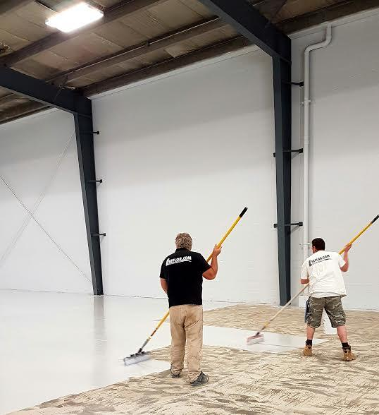 Seamless Epoxy Flooring