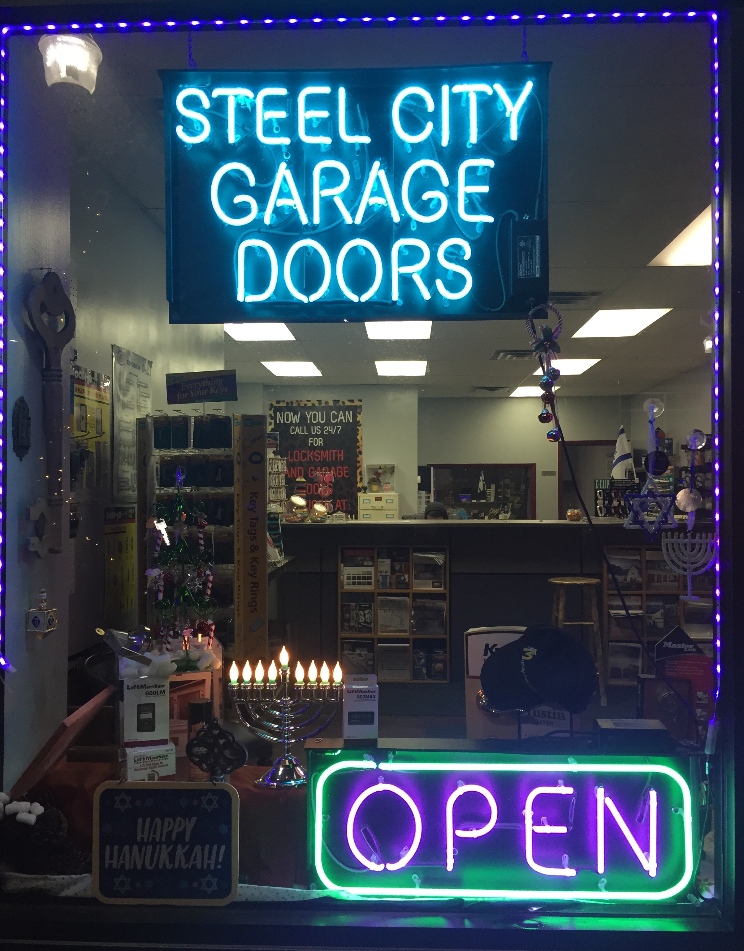 Locksmith in squirrel hill locksmith in pittsburgh pa 412 422 2004 steel city garage doors our new window decoration for the coming holiday rubansaba