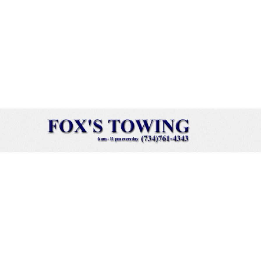 Fox's Towing