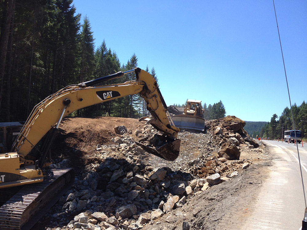 Dawson Construction Ltd in Kamloops: MoTI Highway 1 Malahat Safety Improvements Shawnigan Lake Road to Malahat Summit Weather Station