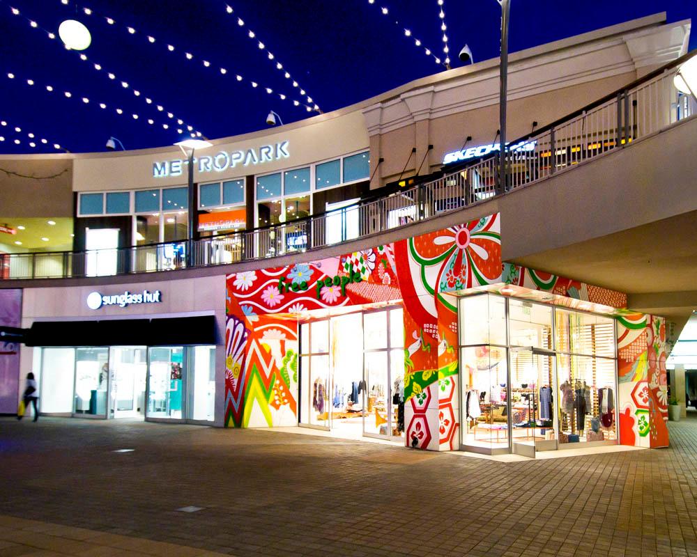 Del Amo Fashion Center Map on