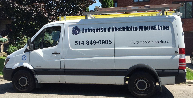 Entreprise d'Électricité Moore Ltée à Montréal