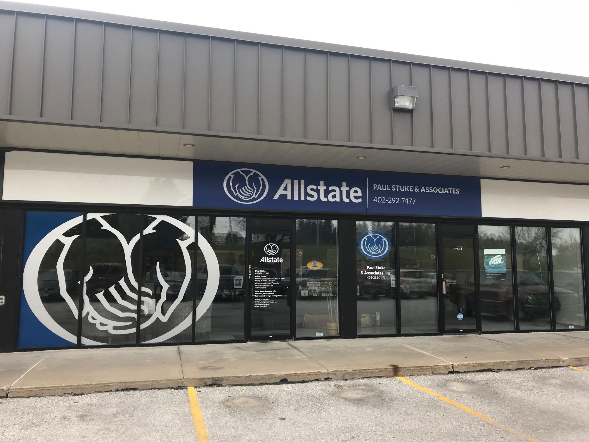 Paul Edward Stuke: Allstate Insurance
