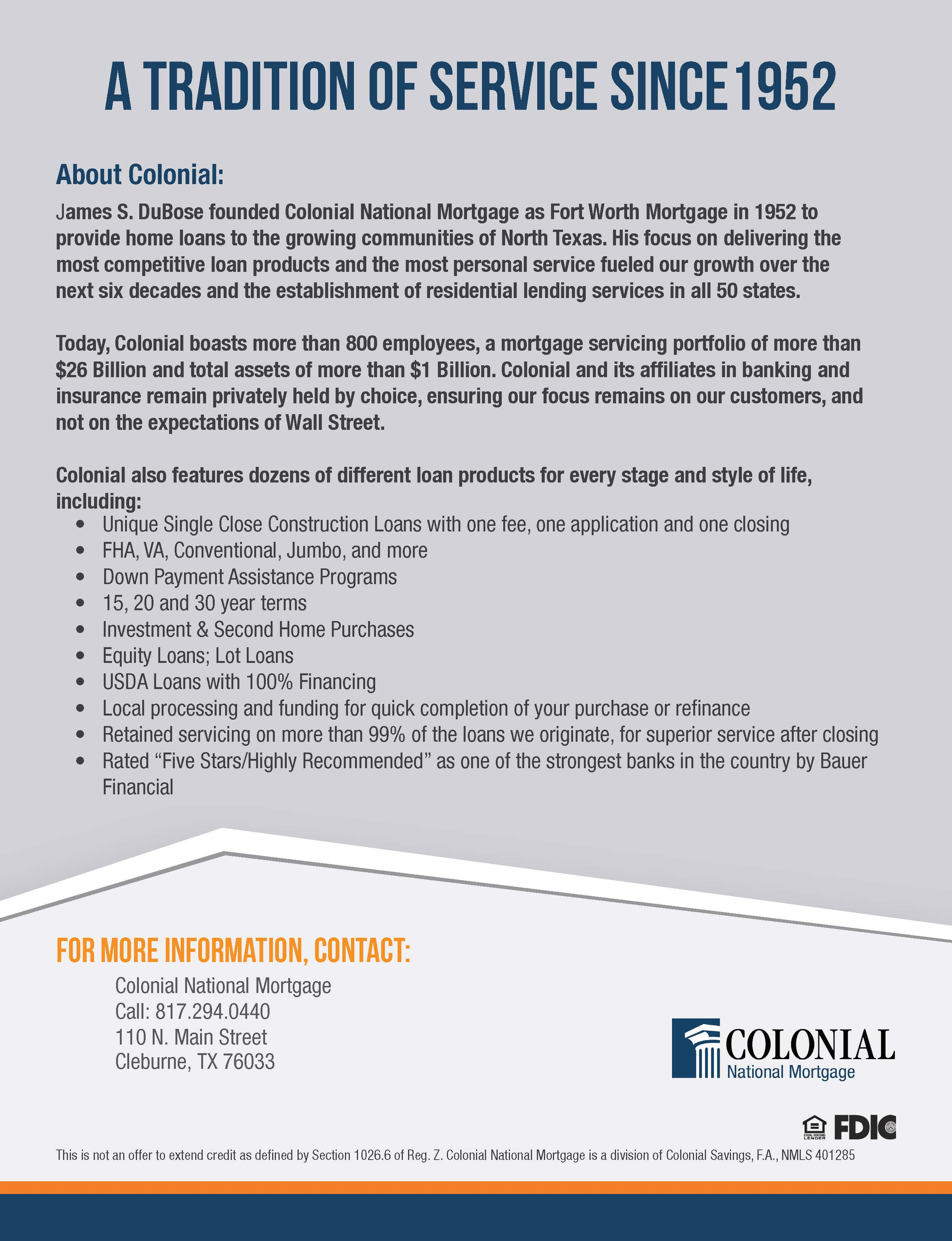 Colonial - Banking, Home Loans & Insurance image 1