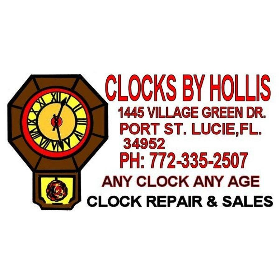 CLOCKS BY HOLLIS