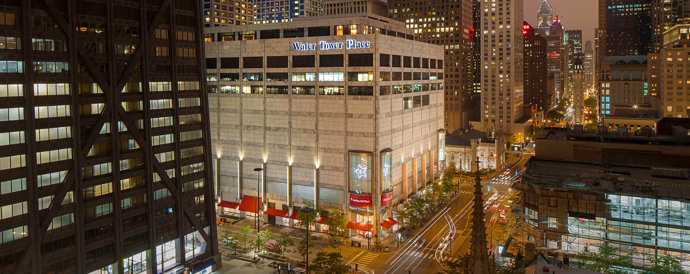 Water Tower Place is a Chicago landmark on the Magnificent Mile and renowned for its vast selection of over stores. Beyond shopping, the eight story mall also houses a number of restaurants and entertainment options, including a live theatre.8/10(1).