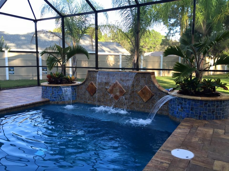Agua construction company in bunnell fl 386 246 7 for Local swimming pool companies